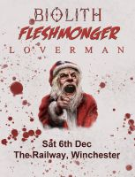 Fleshmonger gig poster by ChaoticatCreations