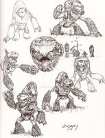 Halo graphic novel sketches 2 by jpizzle6298