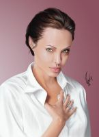 Angelina Final portrait by ibrahx