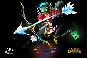 Meddley league of legends by YetiPoisson