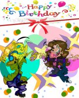 Happy Birthday Edness Madness by Queen-Asante
