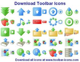 Download Toolbar Icons by Ikont
