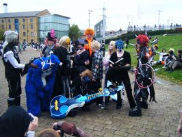 Halloween meets Orgy 13 by SoulboundChild