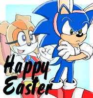 Happy Easter From Sonic by Segavenom