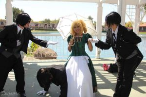 Lizzie Brings All The Butlers to the Yard by PhantressSaphira