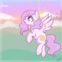 Sunrise in Equestria by lulubellct