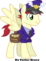 Mail Stallion Special Delivery by Vector-Brony