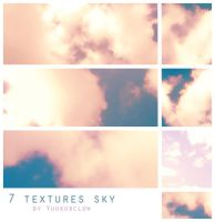 Fantasy sky textures by yuukoxclow