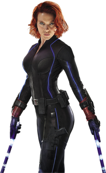 Black Widow Avengers Age of Ultron Render by sachso74