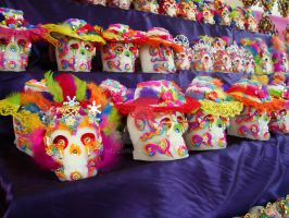 Mexico, Calaveritas de dulce by MizoShu