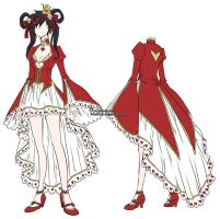 XDOWN- alice red design by rann-poisoncage