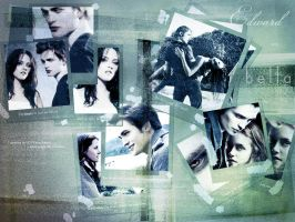 Edward and Bella Wallpaper 2 by leminuitreve