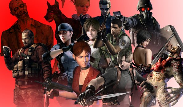 Resident Evil 20th anniversary by deangagaTR