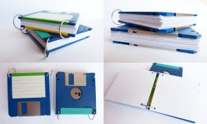 Floppy Disk Notebook by ajnataya