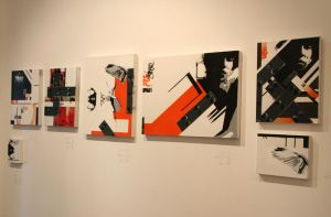 Canvases from Artholes Show by STRAFE-Unlimited