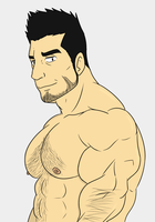 hot anime dad by MamaLuigi7