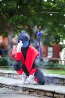 Nightcrawler of the X-Men by BloodxButterfly