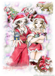 + Merry Xmas + The Lost World by Subba-kun