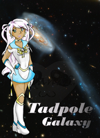 Sailor Tadpole Galaxy by PandanaLove