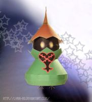 Wizard Heartless - papercraft by Lyrin-83