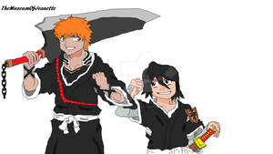 Partners Forever ~ Bleach by TheMuseumOfJeanette