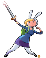 What time is it? FIONNA TIME! by QueenRebecca