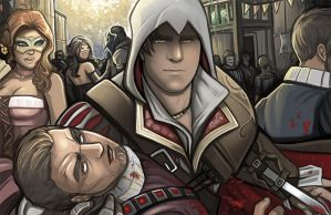 Ezio Auditore by Holly-the-Laing