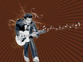 Chuck Berry by TAntoine
