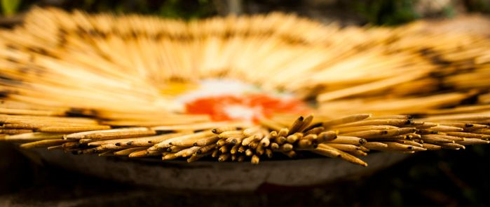 Drying Incense by FU51ON