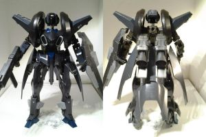 Koto 1/100 Custom FA ~NSG-XF 'Nosferatu' view 3 by PhantasmaStriker