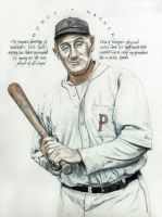Honus Wagner by phan-tom