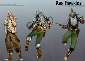 Ray Hawkins----Colored by TV-TonyVargas