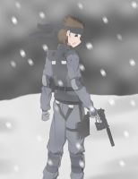 Solid Snake by Soap971