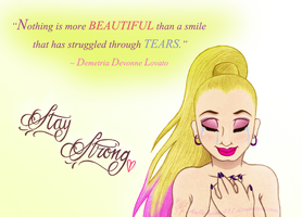 Demi Lovato ~ Beautiful tears by chachi411