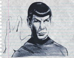 Mr Spock by RickCelis
