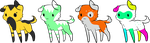 Doggie Adopts by Wolfies--Adopts