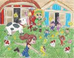 Barnyard Jamboree by ChibiSunnie