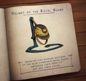 The Forest's Lost and Found - Helmet of the Guard by zazB