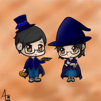 BA/GH - Halloween: Ming and Mei Young by AvalonMelody