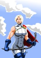 Power Girl - Alternate costume by adamantis
