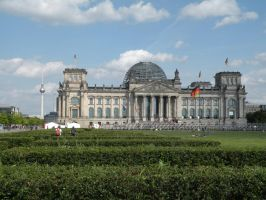 Reichstag building and TV Tower by remmy77