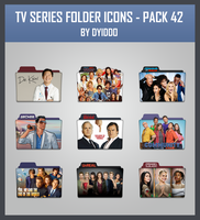 TV Series Folder Icons - Pack 42 by DYIDDO
