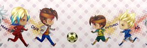 Inazuma 11 - Run for that ball. by lol-Jokes