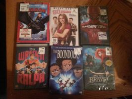 My new 6 movies :) by WinterMoon95