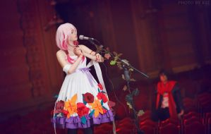Inori Yuzuriha (White Flower Dress Ver.) by Faid-Eyren