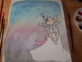 WIP Watercolors by aska--san