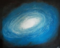 Cosmos: oil painting by Crossfire322