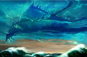 Surf Leviathan by Fyreant