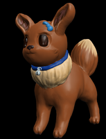 3D Eevee for CookieKitty by YuPuffin