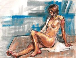 figure drawing 2 by dhayman85